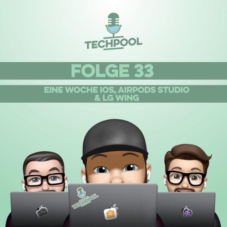 033 – Eine Woche iOS, AirPods Studio & LG Wing